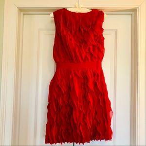 Reiss flirty ruffles ruffles ruffles dress